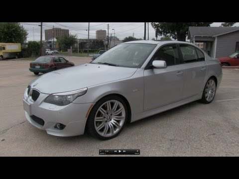 2008 BMW 550i (Sport Package) Start Up, Exhaust, and In Depth Tour
