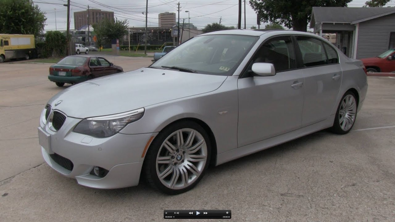 2008 BMW 550i Sport Package Start Up Exhaust and In Depth Tour