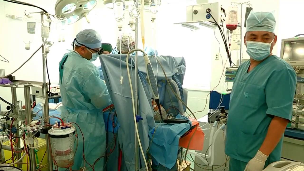 Уникальные операции провели турецкие кардиохирурги в Шымкенте