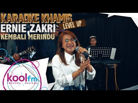 ERNIE ZAKRI - Kembali Merindu - Slam Cover | Karaoke Khamis Level Up!