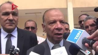 بالفيديو| محافظة القاهرة يتابع سير العملية التعليمية في أول يوم دراسي
