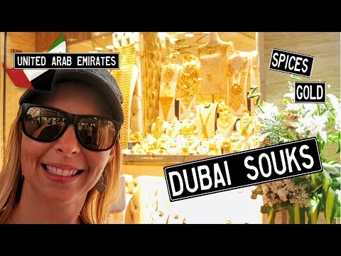 DUBAI Gold & Spice SOUKS – How to use the METRO (WeWillNomad)