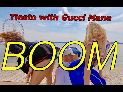 Tiësto with Gucci Mane & Sevenn  BOOM ALL ASHORE