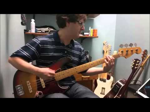 Led Zeppelin Immigrant song (Bass Cover)