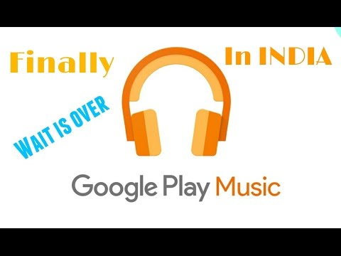 Google play Music| Launched in INDIA