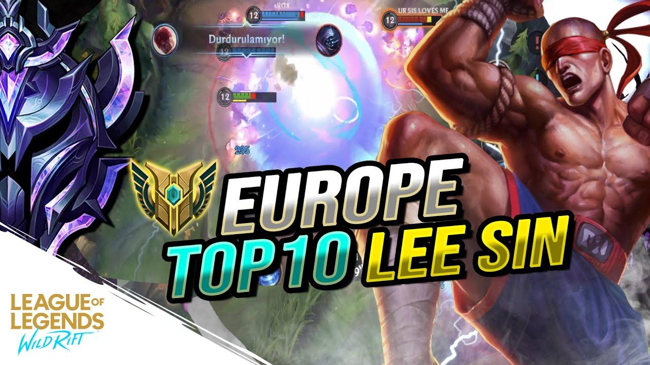 Wild Rift: DIAMOND 3 CHALLENGER KASIYORUZ ! (Yüksek Elo Gameplay) | EU TOP 10 LEE SIN