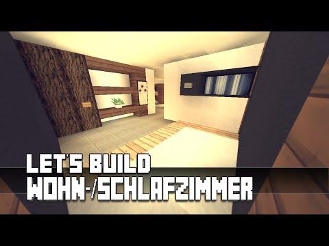 Minecraft :: Möbel Tutorial :: Modernes Wohn-/Schlafzimmer #5 ...