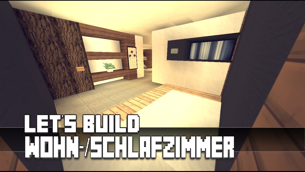 minecraft m bel tutorial modernes wohn schlafzimmer 5 haus nr 10 youtube. Black Bedroom Furniture Sets. Home Design Ideas