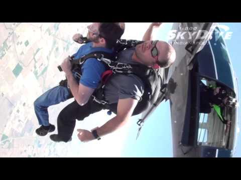 Jeffrey D.Fisher's Tandem Skydive!