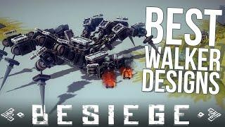 Besiege Alpha Sandbox Gameplay | Best Walker Mechs | Spider, Robot, Mech