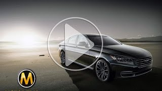 2014 Hyundai Genesis review - تجربة هيونداي جينيسيس - Dubai UAE Car Review by Motopedia.ae