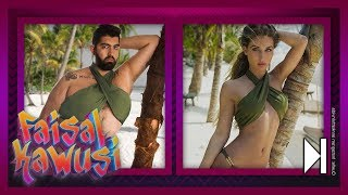 Faisal in Ann-Kathrin Götzes Bikini