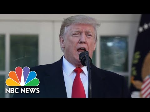 President Donald Trump Announces Deal To End Shutdown, Reopen Government | NBC News