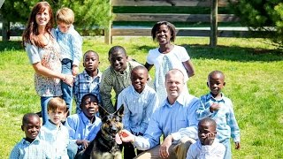 At any cost: How one family adopted 8 children from Africa