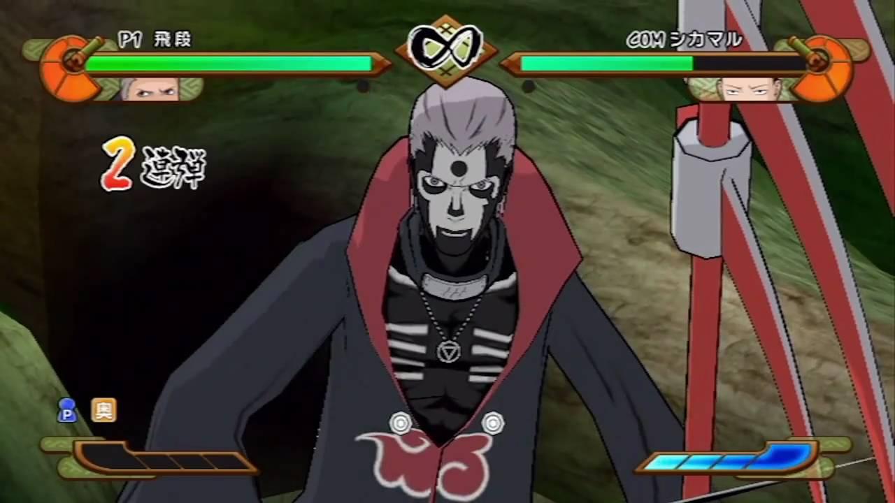 naruto shippuden gekitou ninja taisen special all characters
