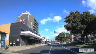 MELBOURNE,   4K driving through FRANKSTON during lockdown