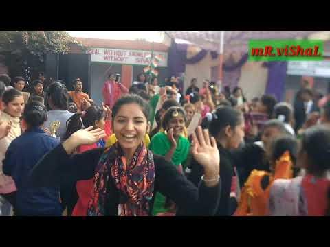 Crazy Student's Dancing On Republic Day 2019|Mr.vishal Sharma