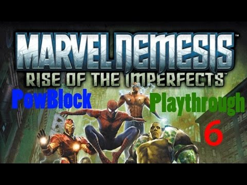 marvel-nemesis:-rise-of-the-imperfects-playthrough-pt6---daredevil-vs.-johnny-ohm-the-electric-man!