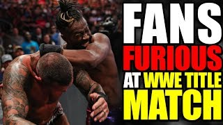 FANS FURIOUS After WWE CHAMPIONSHIP Match! Summerslam 2019 Best & Worst Moments
