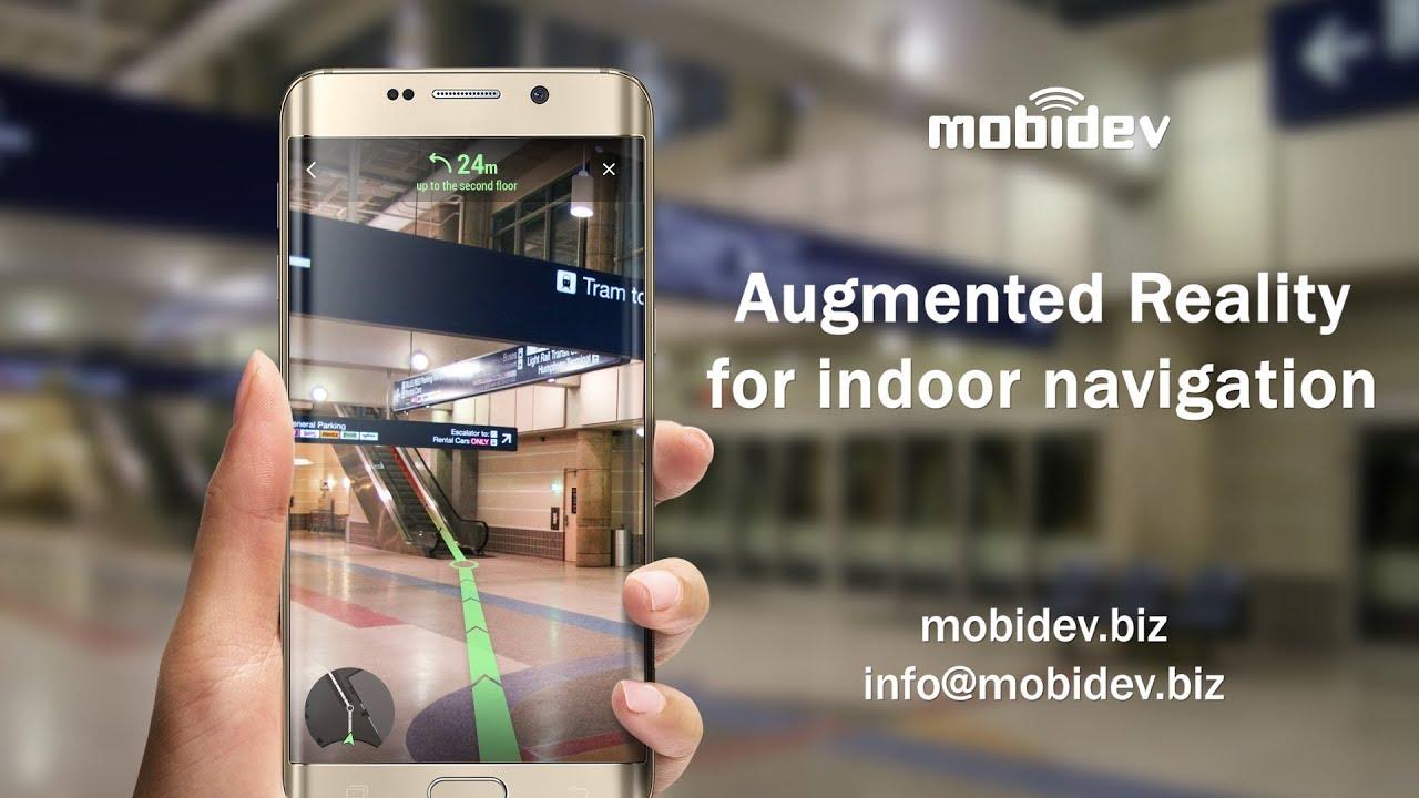 ARCore Indoor Navigation Demo - MobiDev