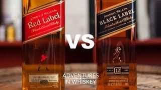 Review: Johnnie Walker Red VS Black