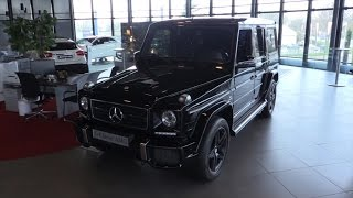 Mercedes-Benz G63 AMG 2017 In Depth Review Interior Exterior