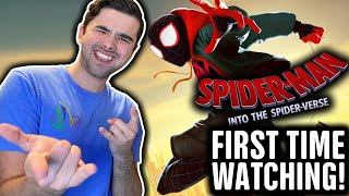 Reacting to SPIDER-MAN: INTO THE SPIDER-VERSE (FIRST TIME WATCHING!!)