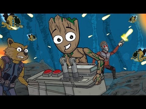 "Guardians of the Galaxy Vol. 2 Parody | ""I Am Groot"" [CONTAINS SPOILERS]"