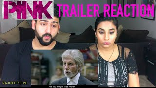 PINK Official Trailer Reaction | Amitabh Bachchan, Taapsee Pannu