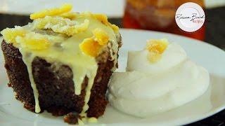 Gingerbread Cake Recipe with Tangerine Glaze by Scratch