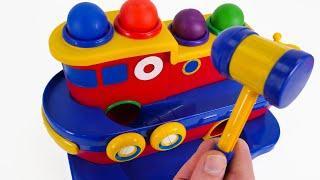 चलो हमारे खिलौना नाव के साथ उच्च समुद्र पर समुद्री डाकू खजाना मिल!