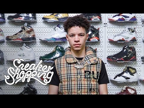 Lil Mosey Goes Sneaker Shopping With Complex
