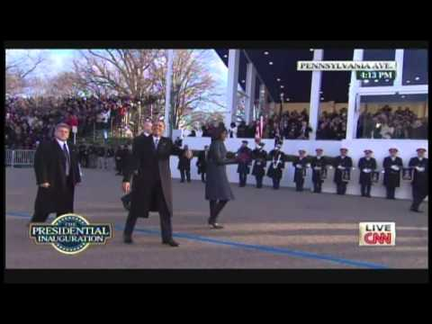President Obama & Michelle Obama Inaugural Parade Walk Pennsylvania Avenue (January 21, 2013) [2/2]