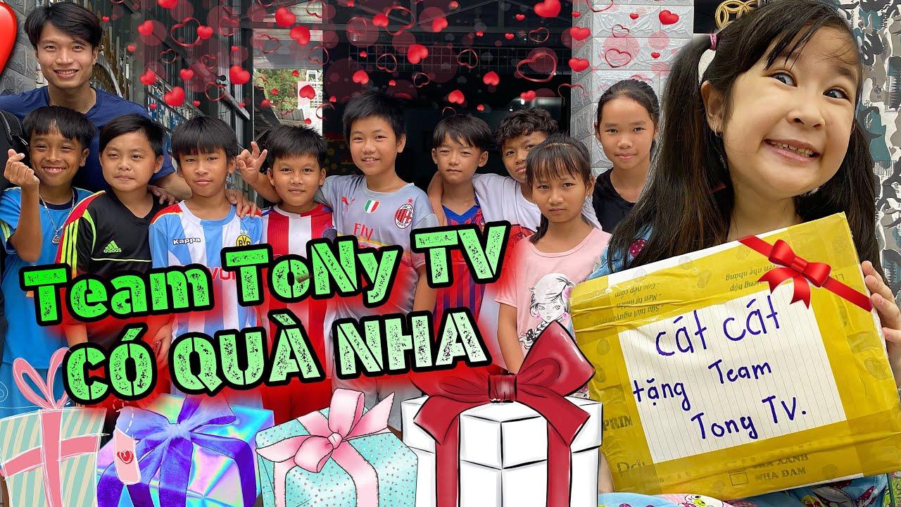 Cát Cát vào THẾ GIỚI KẸO mua tặng TEAM TONY TV | Cát Cát House - YouTube