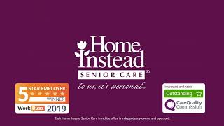 Home Instead Senior Care Local TV Commercial #SupportLocal