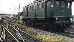 E91 99,Lok16 der GES und V160(VorserienV160,Lollo)der WEG