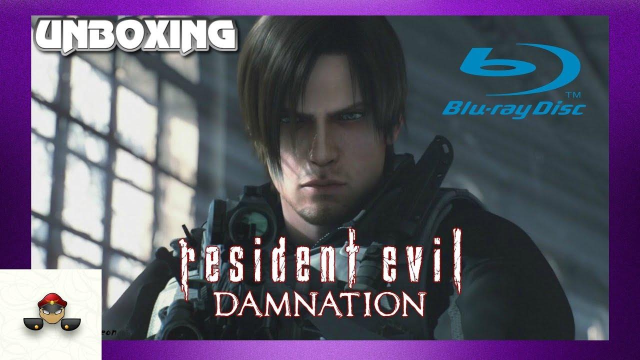 Resident Evil Damnation Blu Ray Unboxing Youtube