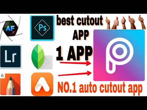 Best app for removing background image -picsart tutorial