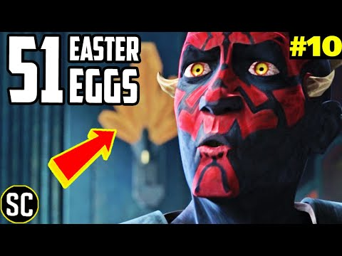 CLONE WARS 7x10: Every Easter Egg + MANDALORIAN Connection EXPLAINED - 'The Phantom Apprentice'