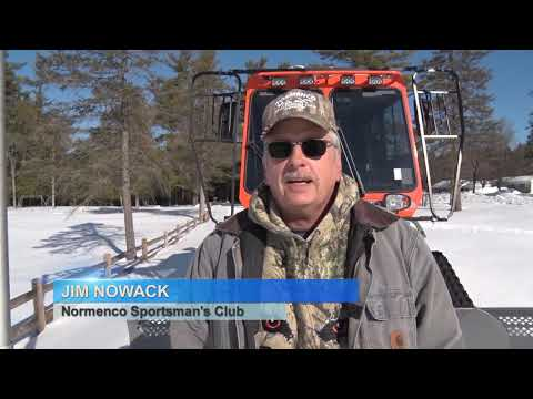 Discovering - Snowmobile Trail Grooming, DCN Trails Ski Snowshoe Race