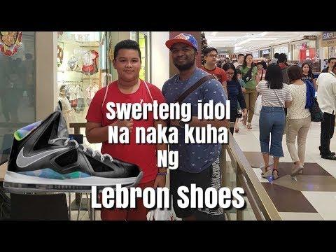 Dumayo ng Pampanga para mamigay ng sapatos