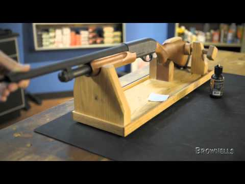 Brownells - Mountain Meadow Woodworks Gun Cradle