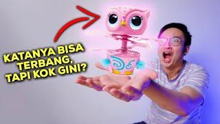 KATANYA MAINAN ANAK-ANAK, KOK BEGINI SIH?? | OWLEEZ FLYING BABY OWL INTERACTIVE  UNBOXING & REVIEW