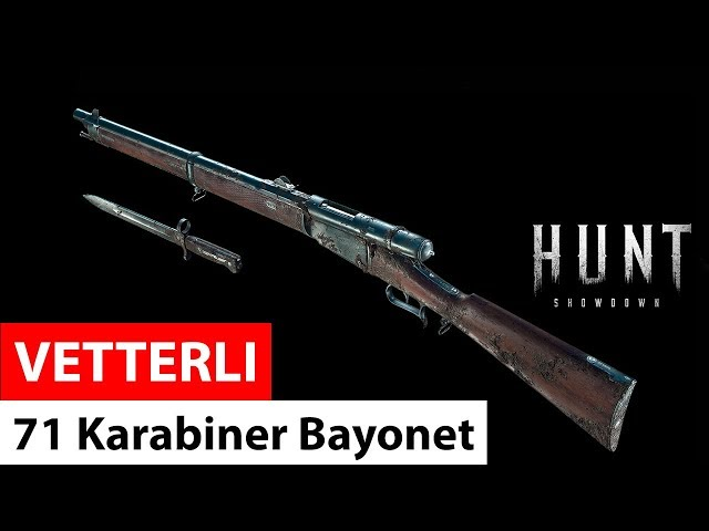Vetterli 71 Karabiner Bayonet | Hunt Showdown