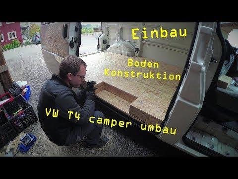 VW T4 umbau zum Camper Van - #06 - konstruktion & verlegung des Bodens | Ben am Leben