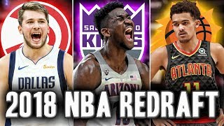 The Way To Early 2018 NBA Redraft   Who Will Go Number 1?