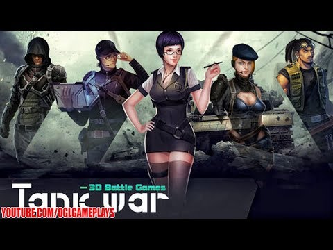 Tank War - 3D Battle Games Gameplay (iOS Android)