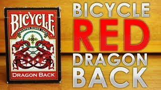 Deck Review - Bicycle Red Dragon Back