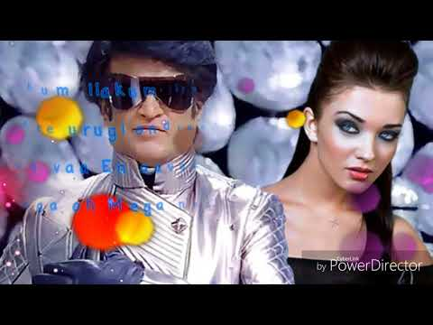 2.0 enthira logathu sunthari song with lyrics
