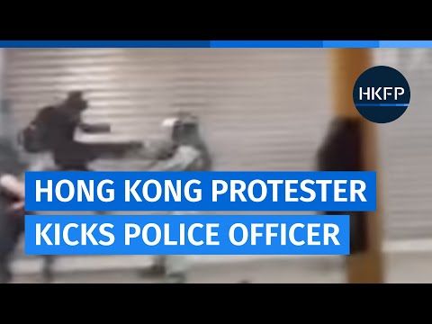 First arrests in HK as 'anti-protest' law kicks in